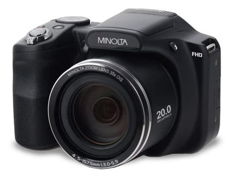 New Minolta Digital Cameras Now Available For Sale On