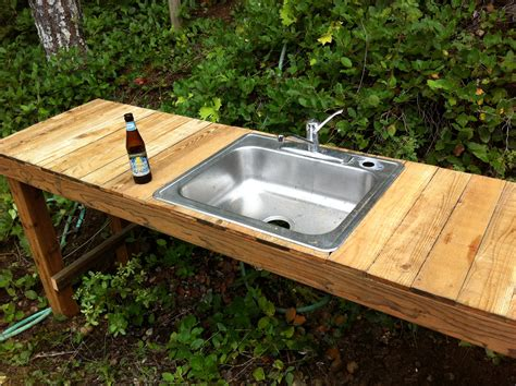 outdoor kitchen sinks ideas build an outdoor sink part one designs by studio c outdoor kitchen with functional patio