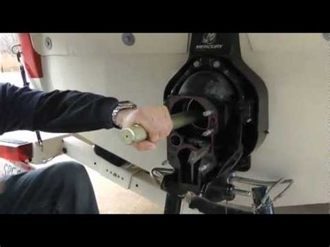 gimbal bearing removal  replacement  mallory marine