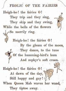 Frolic of the fairies poem by katinthecupboard, via Flickr ...