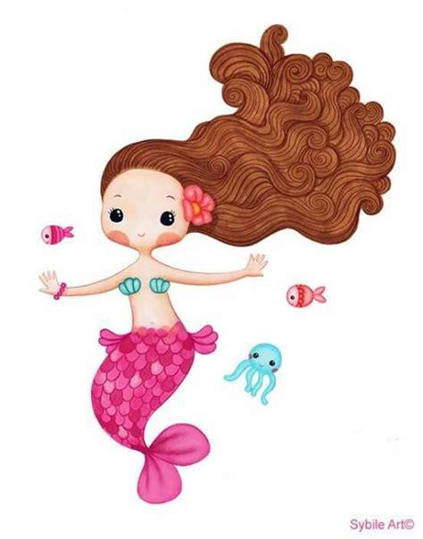 ideas  mermaid cartoon  pinterest