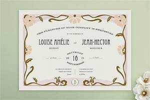 champagne french cancan wedding invitations by b minted With example of wedding invitation in french