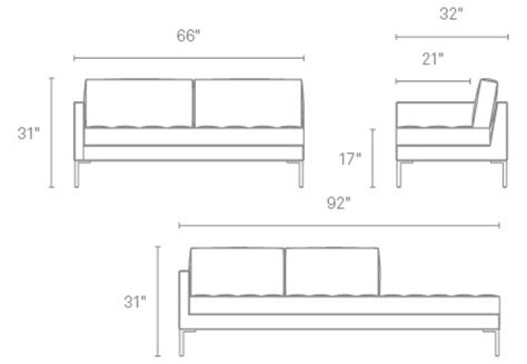 Loveseat Measurements Standard by Sofa Dimensions Height Standard Size Ideal Height