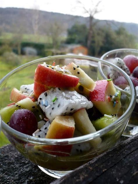 recette coupe de fruits exotiques recette coupe de fruits exotiques dessert avec photo