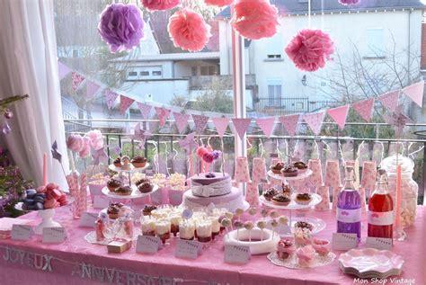 decoration table anniversaire fille  ans