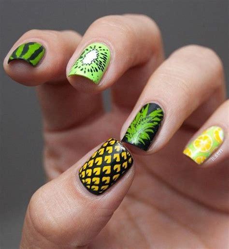 youthful tropical summer nail designs nail design ideaz