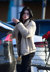 ariel winter in a blue boots out shopping in la 12 02 2019
