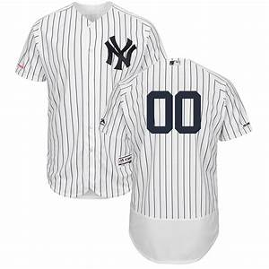 Majestic Jersey Size Chart Men 39 S New York Yankees Majestic Home White Navy Flex Base