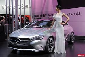 Nouvelle Mercedes Classe E : mercedes classe a concept nouvelle identit l 39 argus ~ Farleysfitness.com Idées de Décoration