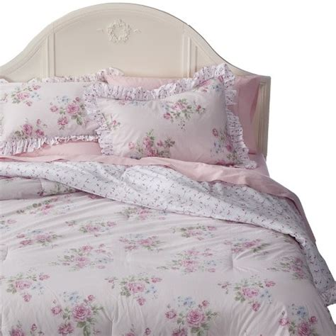 shabby chic bedding clearance simply shabby chic 174 misty rose comforter pink target