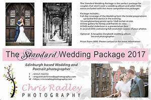 wedding photographer edinburgh prices chris radley With standard wedding photography packages
