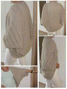 Jacket    Cardigan As Square Knitted Knitting Pattern By