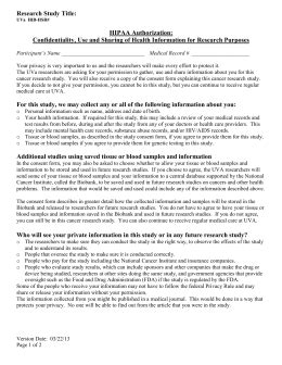 sample information sheet  consent form