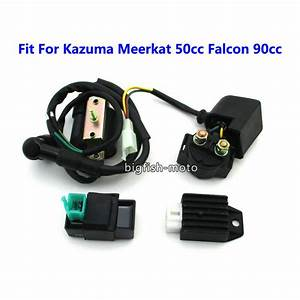 Ignition Coil Cdi Solenoid Relay Rectifier Regulator For