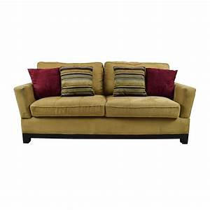 78 off jennifer convertibles jennifer convertibles tan for Sectional sofa jennifer convertible