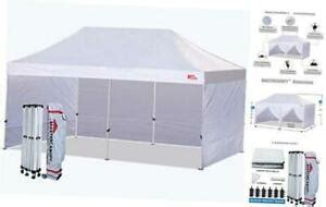 ez pop  canopy tent  commercial instant canopies    white ebay