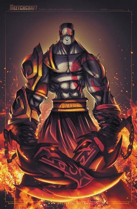 God Of War Kratos By Robduenas On Deviantart