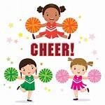 Cheerleader Pom Poms Illustration Vector Illustrations Cheer