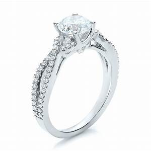 contemporary criss cross diamond engagement ring 100403 With criss cross wedding ring