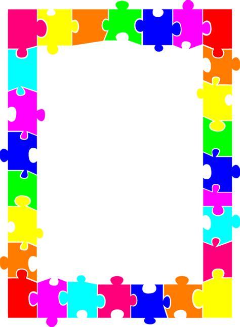 colourful decorative borders