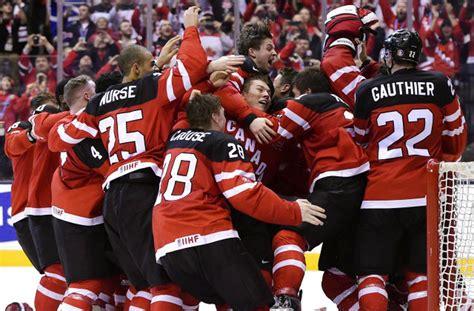 Kanāda dramatiskā mačā uzveic Krieviju un kļūst par pasaules čempioni - TVNET Foto