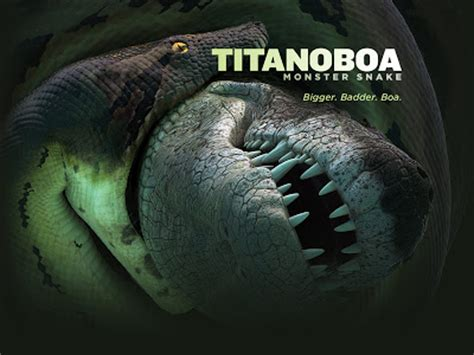 science news and biological nerdiness titanoboa rex