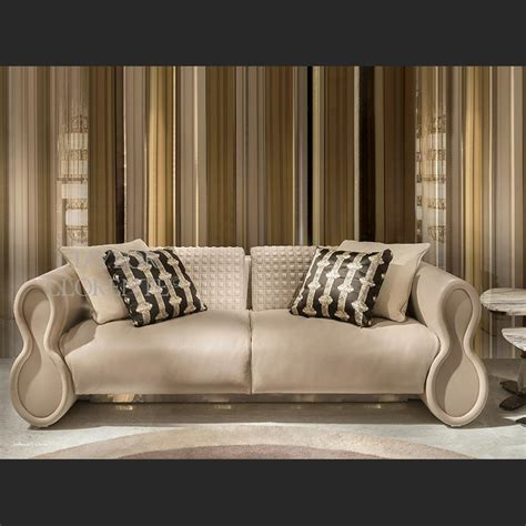 Leather Sofa Luxury by Luxury Quilted Leather Sofa Llorente Furniture
