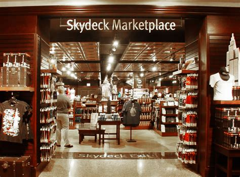 skydeck chicago skydeck gift store