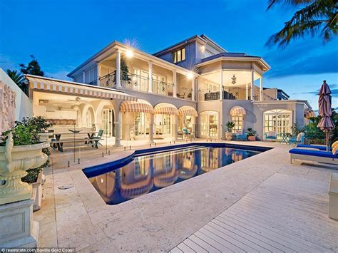 Unknown Palatial House by Gold Coast 6 25m Palatial Mansion Placed On Market