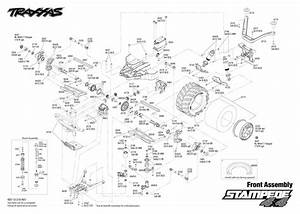 Exploded View  Traxxas Stampede 4wd