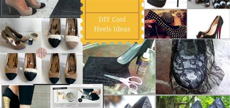 16 Diy Fun Ideas For Shoe Heels Makeover In Your Budget