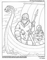 Coloring Pages Explorers Peninsula Leif Matthew Apennine Henson Erik Erikson Famous European Printable Sketch 792px 97kb Drawings Usd Template sketch template