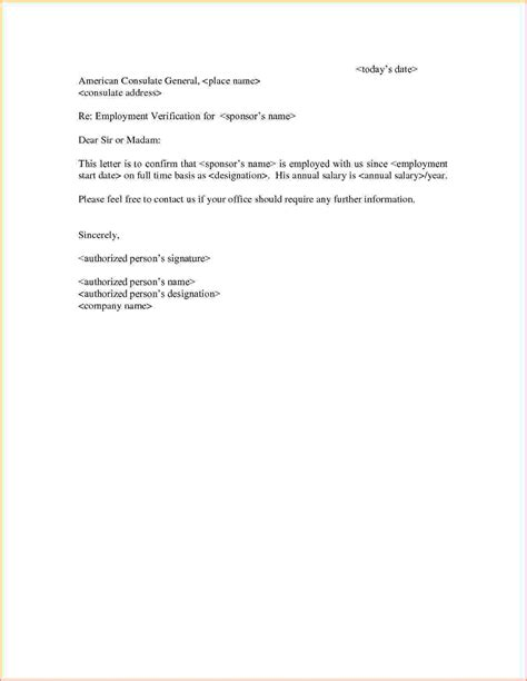 sle employment letter employment letter sle sle letter of employment template