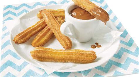 cookies cuisine az churros cuits au four iga recettes espagne sucré dessert