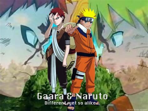 anime vs gaara naru gaara vs gaara wallpaper gaara