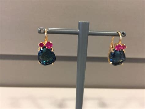 pomellato bahia pomellato bahia sleeper earrings with blue topaz