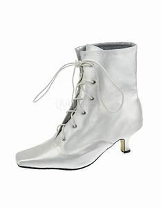 Weiße Schuhe Damen Hochzeit : wei e damen stiefeletten mit schn ren und blockabs tzen f r hochzeit ~ Eleganceandgraceweddings.com Haus und Dekorationen