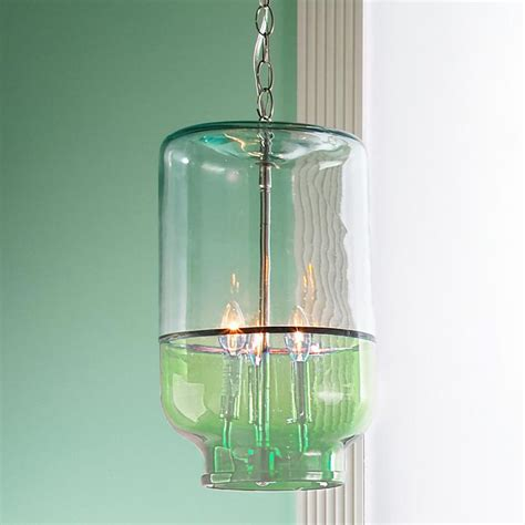 recycled glass light recycled glass canister pendant light brand spankin new