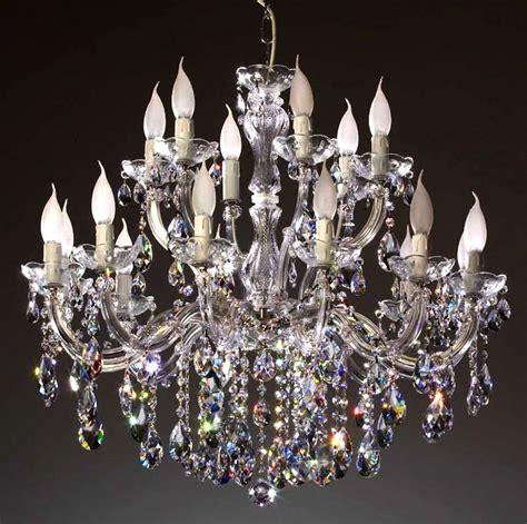 lustre en cristal swarovski 174 18 feux grand luxe castiglione