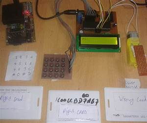 8051 Programming  Rfid And Keypad Based Security System