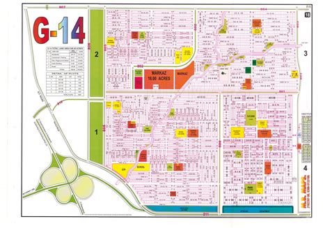 14 Marla Residential Plot For Sale In Sector G14 Islamabad