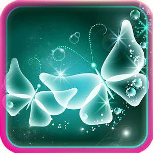 App Neon Butterfly Live Wallpaper apk for kindle fire