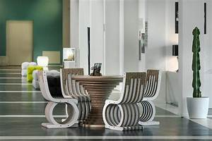Cardboard, Furniture, Hotel, Design, Cardboard, Table, Cardboard, Chair