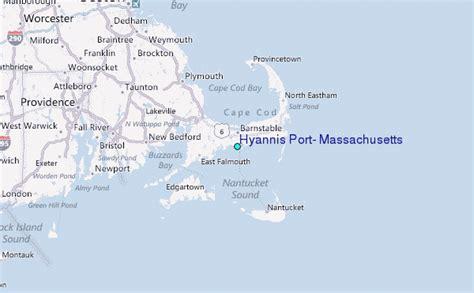Hyannis Port, Massachusetts Tide Station Location Guide