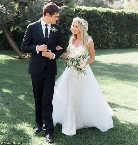 white evening gown tisdale marries christopher in secret