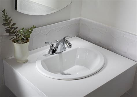 drop in bathroom sink replacement kohler k 2699 8 0 bryant oval self bathroom sink