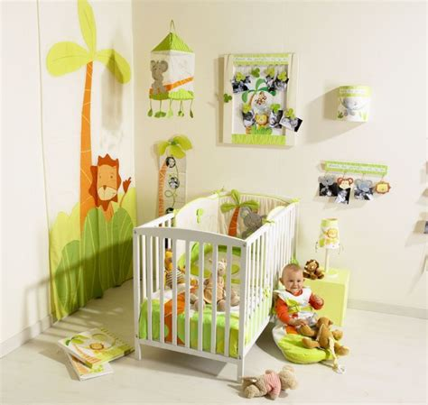 chambre bébé 9 deco chambre bebe jungle