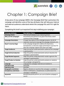 what39s in a channel marketing bill of materials With marketing campaign brief template