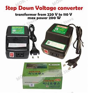 220v To 110v Step Down Voltage Converter Transformer Max