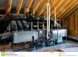 Hvac In Residential House Stock Photography